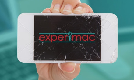 iPhone and iPad Screen Repairs and More at Experimac (Up to 44% Off). 13 Options Available.