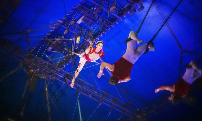 Circus Vargas - Santa Anita Park: $30 to See Animal-Free Circus Vargas Performance on April 17, 18, or 20 at Santa Anita Park (Up to $64 Value)