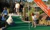 Mulligans Family Fun Center - North Ridgeville: $14 for a Round of Miniature Golf for Four at Mulligans Family Fun Center in North Ridgeville (Up to $28 Value)