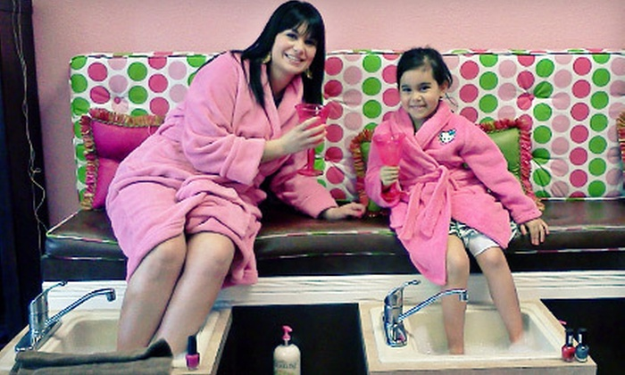 Totally Spoiled - El Paso: Mom and Daughter Manicure or Pedicure at Totally Spoiled (Up to 53% Off)