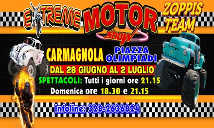 Extreme Motor Show   Adrenalina pura dal 28 giugno al 2 luglio a Carmagnola (sconto 40%)