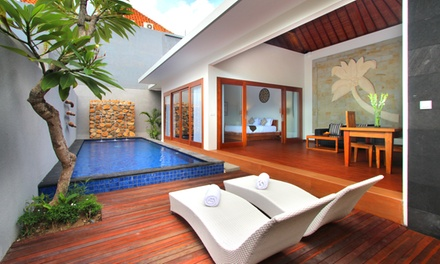 Kerobokan: 27 Night Private Pool Villa Stay with Daily Breakfast and Airport Transfer at Bali Nyuh Gading Villas