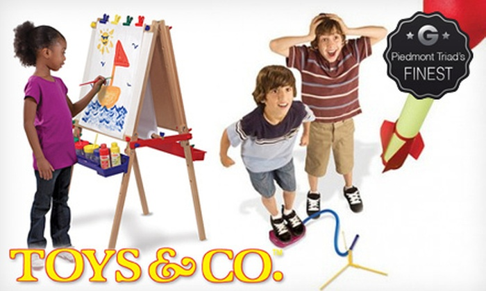 Toys & Co. - Greensboro: $10 for $20 Worth of Toys and Games at Toys & Co.