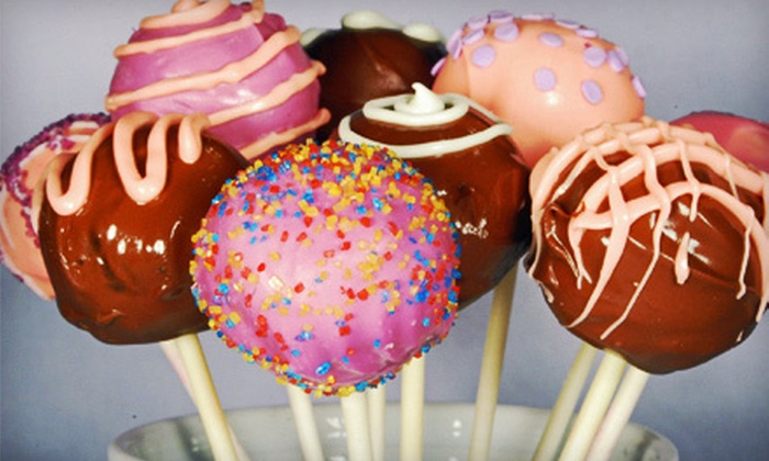Cake Pops by Valerie - Akron / Canton: 18 Classic or Deluxe Cake Pops from Cake Pops by Valerie (Up to 56% Off)