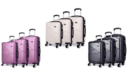 Kono HardShell Lightweight Suitcase Set With Free Delivery