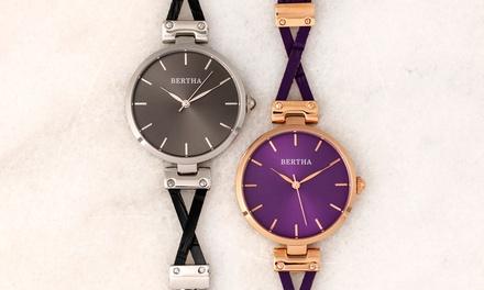 Orologi da donna Bertha disponibile in 2 modelli