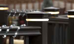Waterproof Solar-Powered LED Rope Lights