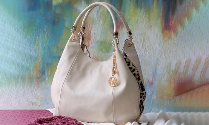 235cc8d0f9b5 ... MKF Collection April Designer Hobo Shoulder Bag by Mia K. Farrow ...