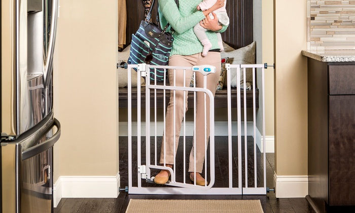 Regalo Hands Free Safety Gate Groupon