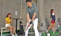 手ぶらでOK。首都圏最大級の室内ゴルフ施設でプロに教わる≪ゴルフプライベートレッスン50分×2回 / 1名分 or 2名分≫ @BRAI...