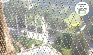 Confiança Redes e Telas De Proteção: 5 m², 10 m² ou 15 m² de rede de proteção com instalação inclusa com a Confiança Redes e Telas De Proteção