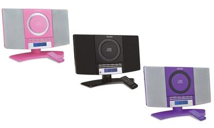 Sistema de música con radio FM y reproductor de CD Denver