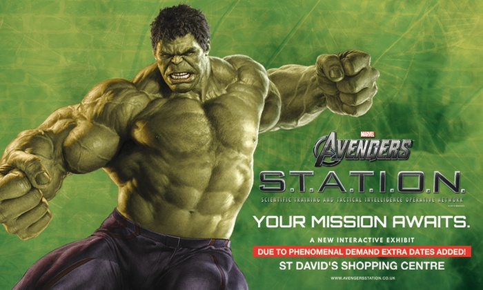 2752996d Marvel Avengers S.T.A.T.I.O.N. Interactive Exhibit - Up To 44% Off ...