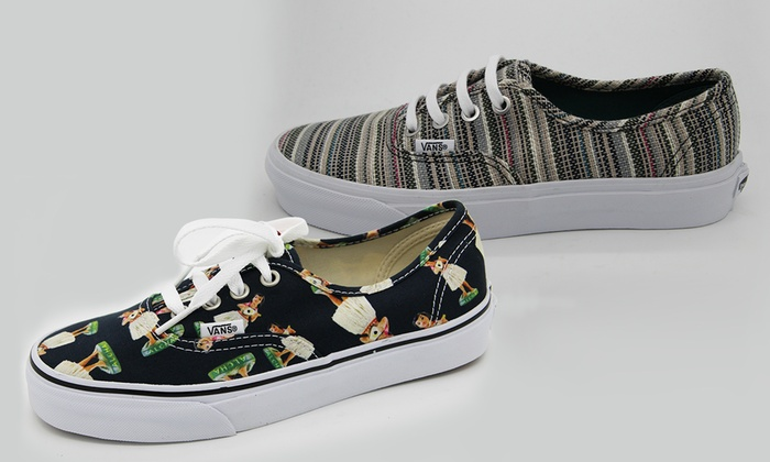 vans damen gestreift