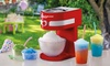 Groupon Goods Global GmbH: One or Two Cooks Professional Ice Slushy Makers with Optional Lickleys Syrups