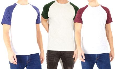 Men's Short Sleeves Raglan Tee
