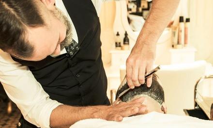 Barber Wellness Ritual opt. mit Waschen, Schneiden und Föhnen bei Stand By Me Hair And Make Up (bis zu 58% sparen*)