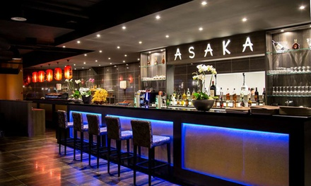 3 uur lang onbeperkt sushi, grill, teppanyaki, wok en dessertbuffet bij Asaka Sushi in hartje Enschede