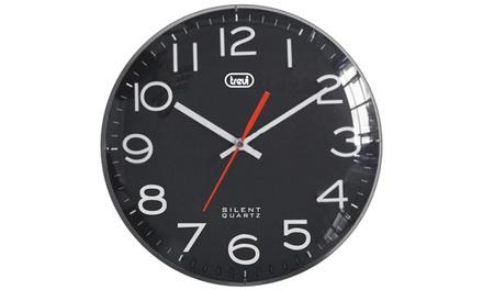 Orologio da parete Trevi OM 3316 S, con display da 30 cm di diametro