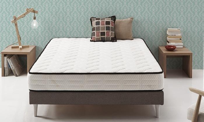 bis zu 91 rabatt visco gel matratze groupon. Black Bedroom Furniture Sets. Home Design Ideas