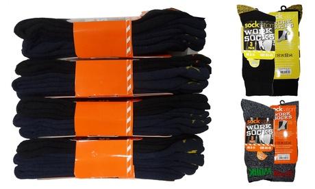 Pack de 12 calcetines de algodón