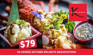 Kobe Jones Sydney: 10-Course Japanese Degustation ($79) Plus Cocktail ($88) at Kobe Jones (Up to $170 Value)
