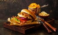 2x, 4x oder 6x Burger nach Wahl mit Pommes frites und Coleslaw (50% sparen*)