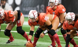 Omaha Heart: Legends Football League Game for One or Four on Friday, April 15 or Saturday, July 30