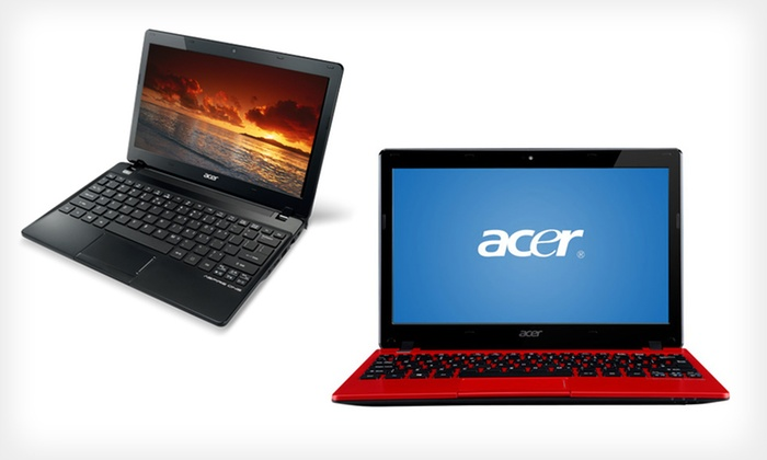 Acer Aspire One Laptop: $249.99 for an Acer 11.6-Inch Laptop (Manufacturer Refurbished) (Up to $279.99 List Price). Free Shipping and Returns.