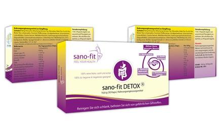 1, 3 oder 6 Monatskur sano-fit DETOX für eine gesunde Darmaktivität (Berlin)