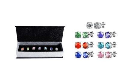 Seven-Days Earrings with Crystals from Swarovski® from AED 99