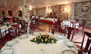 Landatxueta: Menú para 2 o 4 con aperitivo, primero, segundo, postre y bebida desde 34,90 € en Landatxueta