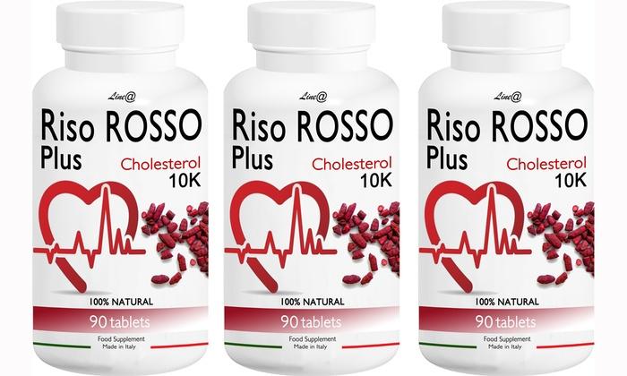 Riso rosso per colesterolo Lineadiet