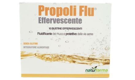 10 bustine di Propoli Flu effervescente Naturfarma