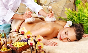 westoe beauty clinic: One or Two 45-Minute Hot Poultice Thai Massages at Westoe Beauty Clinic