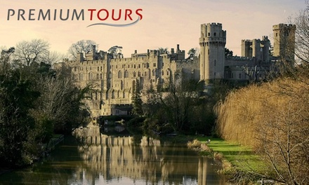 Warwick Castle, Stratford, Oxford and the Cotswolds Tour for Child or Adult from Premium Tours (52% Off) (London)