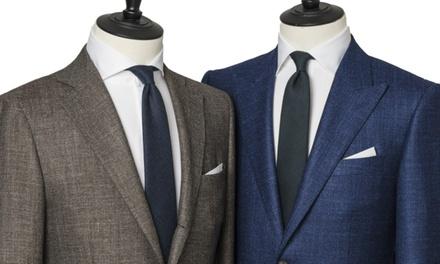 Waardebon van € 350 voor een maatpak, naar keuze met maatoverhemd, bij House of Tailoring
