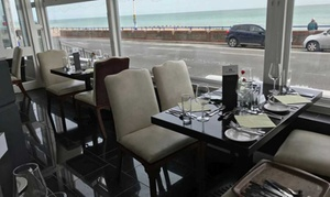 The Strand Hotel: Three-Course Meal for Two or Four at The Strand Hotel (40% Off)