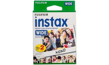 Fujifilm Instax Wide Color Film (40, 60, or 100 Sheets)