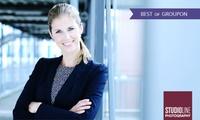 Profi-Business- oder Bewerbungsfoto als Ausdruck und Datei inkl. Make-up bei STUDIOLINE PHOTOGRAPHY (54% sparen*)