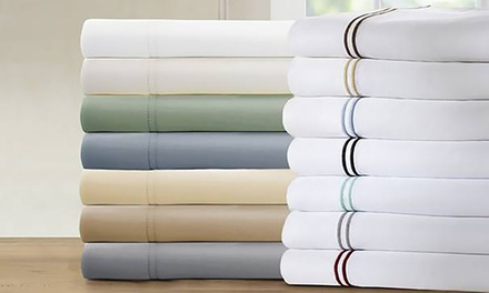 1,000TC Italian Hotel Collection Cotton-Rich Sheet Set (4-Piece or 6-Piece)