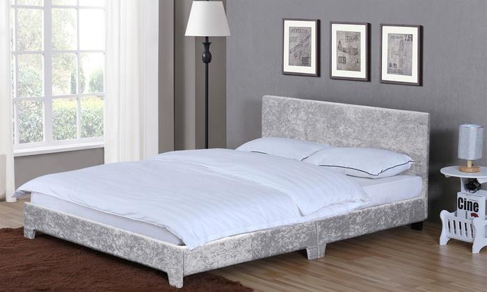 Vida Designs Victoria Fabric Bed Frame