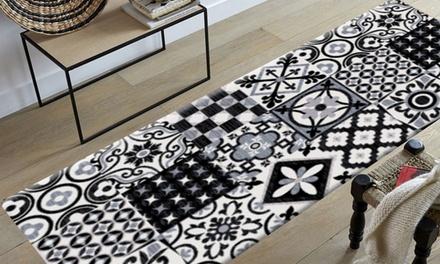 tapis imitation carreaux de ciment mod les coloris et. Black Bedroom Furniture Sets. Home Design Ideas