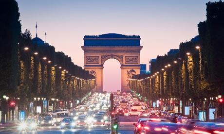 Paris Champs Elysées : chambre Double avec fitness, option pdj et pack de bienvenue pour 2 à Hôtel La Régence Etoile 4*
