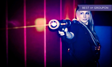 Two Laser Quest Games for Two or Four at Ice Quest (Up to 53% Off)