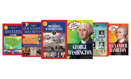 American Heroes and History Books for Kids