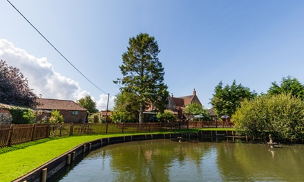 Norfolk: 1 to 3 Nights for Two with Breakfast and Dinner at Elm Farm Country House
