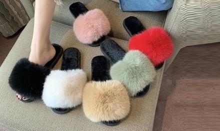Pantofole soffici da donna
