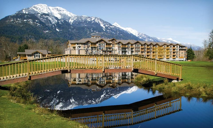 Executive Suites Garibaldi Springs Resort - Squamish: $89 for One-Night Stay in a Studio Suite at Executive Suites Garibaldi Springs in British Columbia (Up to $159 Value)