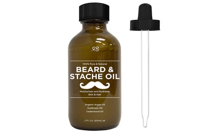 One, Two or Three Beard and Stache Oils from AED 59